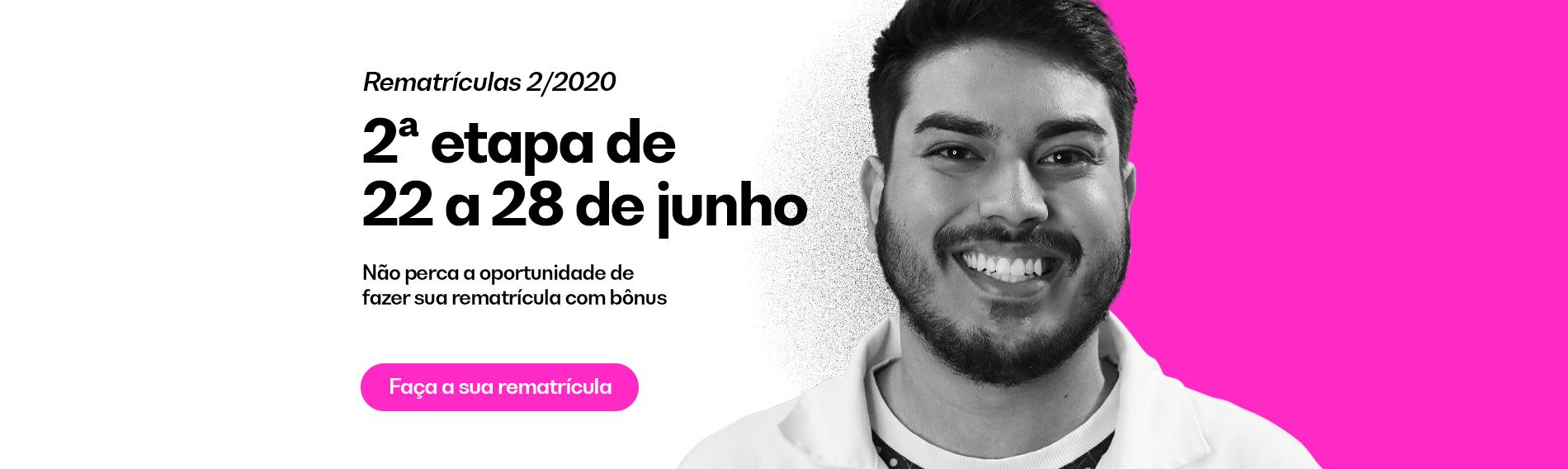 Rematrículas 2/2020